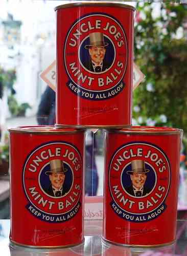 Uncle Joe's Mint Balls Tin