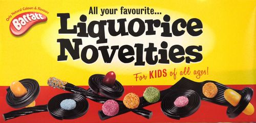 Liquorice Novelties Box
