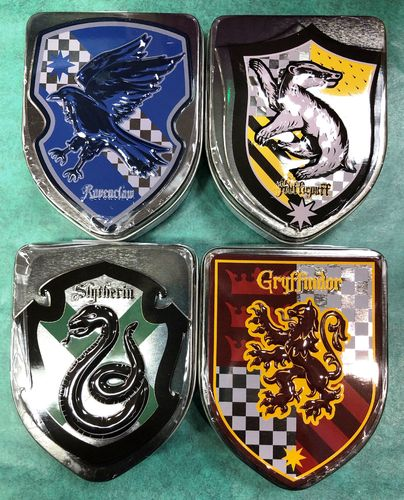 Harry Potter House Crest Tins